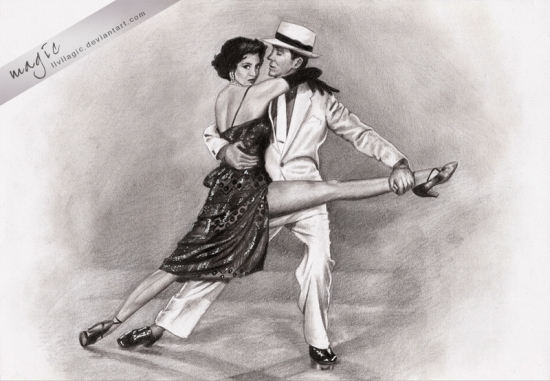 Cyd Charisse, Fred Astaire by magic